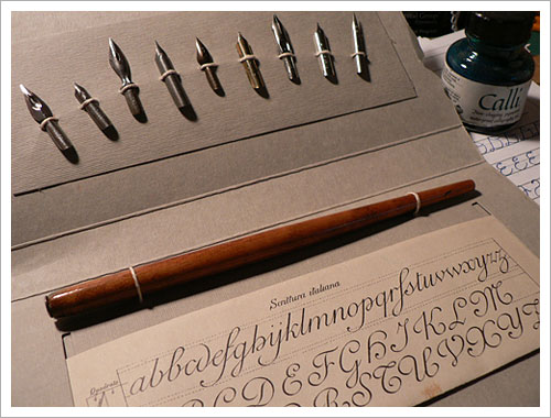 My Calligraphy kit
